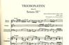 Bach, J.S.: Trio Sonatas Vol.2 (2 violins, piano, cello) PETERS