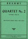 International Music Company Brahms, Johannes: Piano Quartet in A major Op.26 (violin, viola, cello, piano)