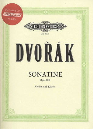 Dvorak, Antonin: Sonatina Op.100 (violin & piano or CD)