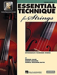 HAL LEONARD Allen, Gillespie, & Hayes: Essential Technique, Bk.3 (violin, online resources included)