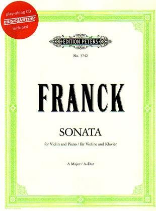 Franck, Cesar: Sonata in A (Violin & Piano or CD)