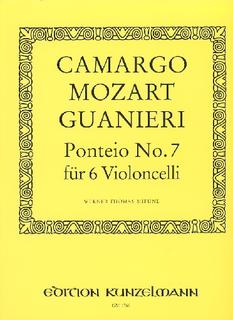 Edition Kunzelmann Guanieri, M. Camargo: Ponteio #7 (6 cellos)