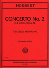 International Music Company Herbert, Victor (Rose): Concerto #2 Op.30 (cello & piano)
