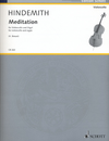 HAL LEONARD Hindemith, P. (Breuer, arr.): Meditation from Nobilissima Visione (cello and organ)