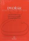 Barenreiter Dvorak (Tait): Piano Quartet in D Major, Op.23 - URTEXT (piano quartet) Barenreiter