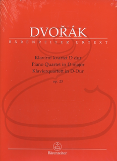 Barenreiter Dvorak (Tait): Piano Quartet in D Major, Op.23 - URTEXT (piano quartet) Barenreiter