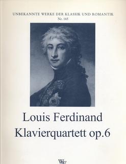 Wollenweber Ferdinand, Louis: Klavierquartett Op.6 (piano, violin, viola, cello)