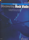 HAL LEONARD Haigh, C.: Discovering Rock Violin - An introduction to rock styles, techniques, and improvisation (violin, and CD)