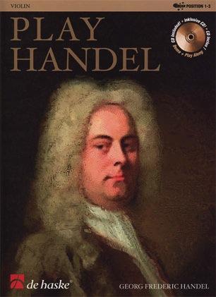 HAL LEONARD Handel, G.F.: Play Handel (violin & CD)