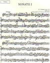 Handel, G.F.: Sonaten Band 1 (violin & piano or CD)
