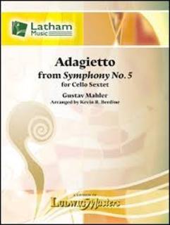 LudwigMasters Mahler, G (Berdine): Adagietto from Symphony No. 5 (6 cellos) Latham