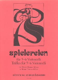 Edition Kunzelmann Thomas-Mifune: Spielereien, Vol.3-Trifles for Six Cellos