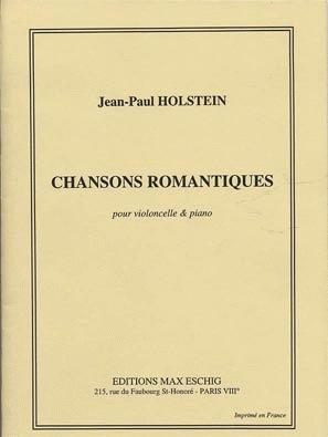 Carl Fischer Holstein, Jean-Paul: Chansons Romantiques (cello & piano)