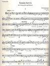 HAL LEONARD Hummel, B.: Sonata Brevis, Op. 11a (cello & piano)