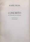 HAL LEONARD Husa, Karel: Cello Concerto (cello & piano)