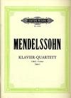 Mendelssohn, F.: Piano Quartet in F minor, Op.2 (violin, viola, cello, piano)