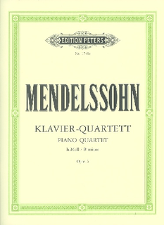 Mendelssohn, F.: Piano Quartet in B minor, Op.3 (violin, viola, cello, piano)