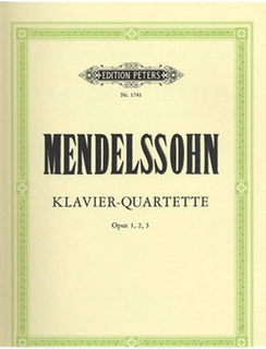 Mendelssohn, F.: Complete Piano Quartets, No.1-3 (violin, viola, cello, and piano)