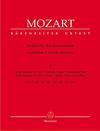 Barenreiter Mozart, W.A.: Complete Church Sonatas, Volume 1 (Nine Sonatas for two Violins, Organ and Violoncello/Bass) Barenreiter