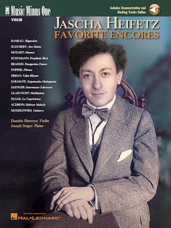 HAL LEONARD Heifetz, J.: Favorite Encores-Music Minus One (violin & CD)