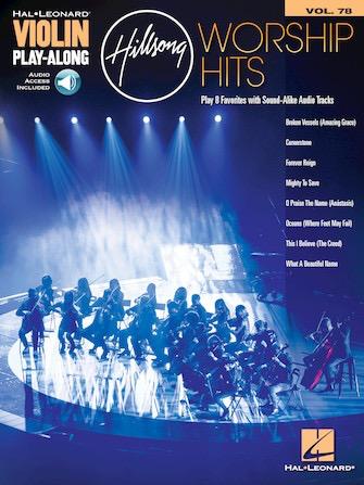 HAL LEONARD Hal Leonard: Hillsong Worship Hits (violin w/ audio access)