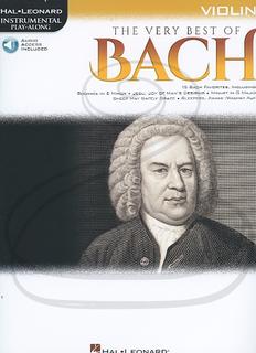 HAL LEONARD Hal Leonard Instrumental Play-Along: The Very Best of Bach (violin)(audio access) Hal Leonard