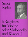 Joplin, Scott: Ragtimes, Vol. 1 (cello or violin and piano)