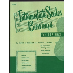 HAL LEONARD Whistler, H. & Hummel, H.: Intermediate Scales and Bowings for Strings (cello)