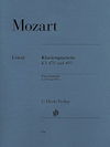 HAL LEONARD Mozart, W.A (Hertrich, ed.): Piano Quartets, K.478 and K.493, urtext (violin, viola, cello, and piano)