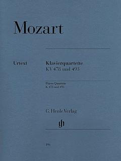 HAL LEONARD Mozart, W.A (Hertrich, ed.): Piano Quartets, K.478 and K.493, urtext (violin, viola, cello, and piano)