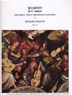 LudwigMasters Strauss, Richard: Piano Quartet in C minor, Op. 13 (violin, viola, cello, piano)