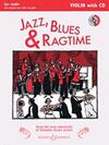 HAL LEONARD Huws Jones - Jazz, Blues & Ragtime (violin, piano) BOOSEY & HAWKES