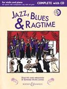 HAL LEONARD Huws Jones - Jazz, Blues & Ragtime Complete (violin, piano) BOOSEY & HAWKES