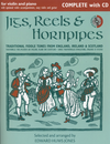 HAL LEONARD Jones, E. H.: Jigs, Reels & Hornpipes - Traditional fiddle tunes from England, Ireland & Scotland (violin & piano or audio CD with optional violin accompaniment, easy violin and guitar)