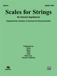 Alfred Music Applebaum, S.: Scales for Strings Bk.2 (cello)