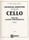 Alfred Music Orchestral Repertoire: Complete Parts for Cello Masterpieces, Vol.1