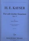Kayser, H.E.: Four Very Easy Sonatinas Op.35 (cello & piano)