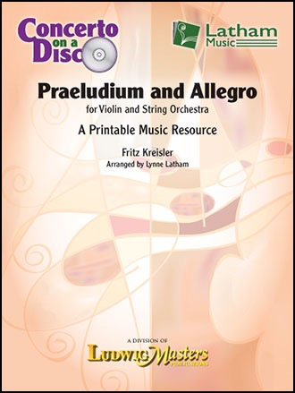 LudwigMasters Kreisler: Paeludium and Allegro (violin and string orchestra) Ludwig Masters