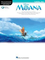 HAL LEONARD Lin-Manuel: Disney Moana (violin) Hal Leonard