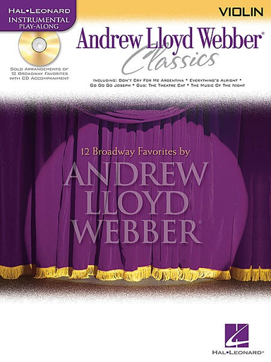 HAL LEONARD Lloyd Webber, Andrew: Classics (violin & CD)