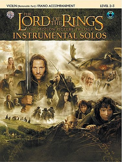 Alfred Music Lord of the Rings Instrumental Solos (violin, CD, Piano) Alfred