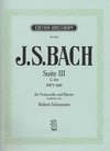 Bach, J.S./Schumann.: Suite No.3 BWV 1009 in C major (cello & piano)