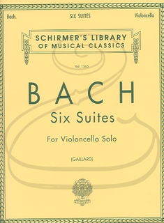 Schirmer Bach, J.S. (Gaillard): 6 Suites (cello) Schirmer