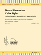 HAL LEONARD Kemminer: Cello Styles, 14 Easy Pieces. Level 1-2. (cello) SCHOTT