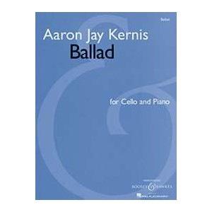 HAL LEONARD Kernis, Aaron Jay: Ballad (cello & piano)