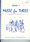 Last Resort Music Publishing Kelley, Daniel: Music for Three Vol.3 Sacred Music, Spirituals & Traditional Jewish Pieces (Bb clarinet 2)