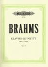 C.F. Peters Brahms, Johannes: Quintet in F minor Op.34 (2 violins, viola, cello, piano)