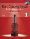 HAL LEONARD Mohrs, Peter: Easy Concert Pieces for Violin and Piano or CD, Vol. 1