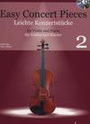 HAL LEONARD Mohr, P.: Easy Concert Pieces, Vol. 2 (violin, piano CD)