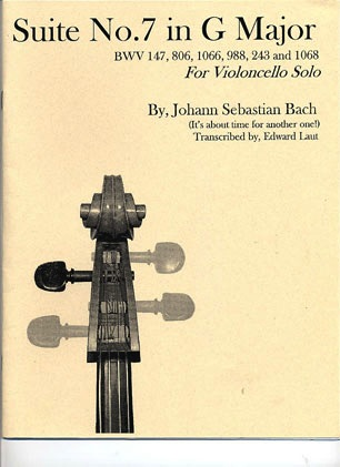 Bach, J.S. (Laut): Suite No. 7 in G Major for Solo Cello